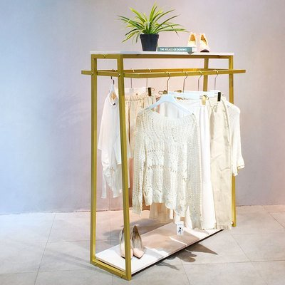 Garment Rack with Shelves for Hanging Clothes