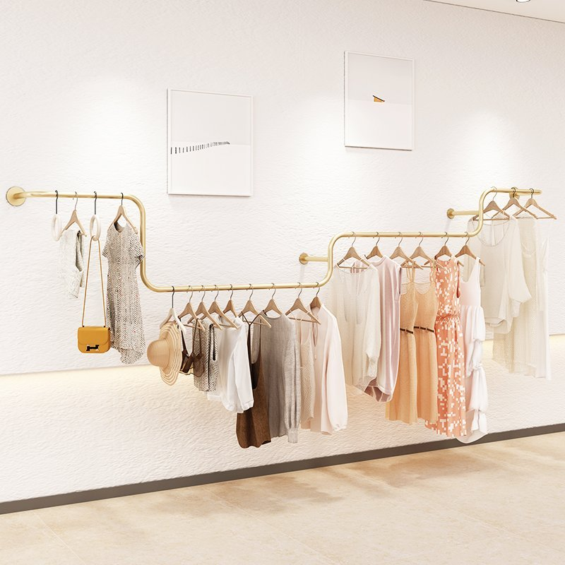 Rolling Clothing Rack for Hanging Clothes