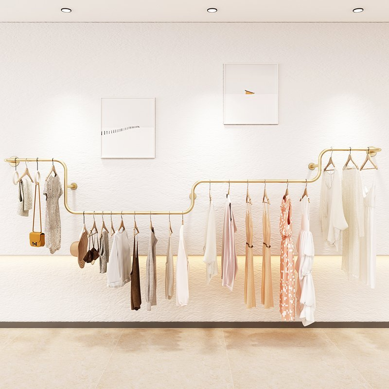 Rolling Clothing Rack for Hanging Clothes 3